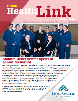 Healthlink Winter 2016 cover