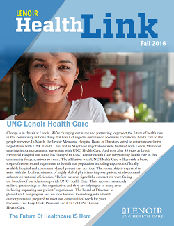 Healthlink Fall 2016 cover