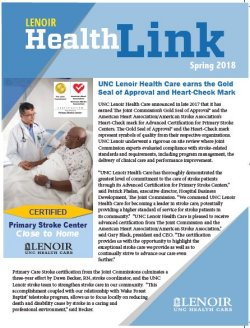 Healthlink Fall 2017 cover