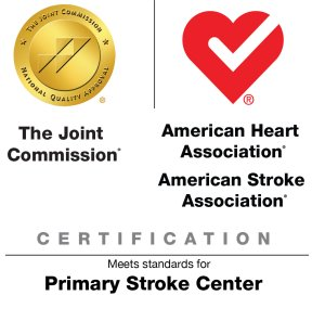 The Joint Commission and American stroke association logo