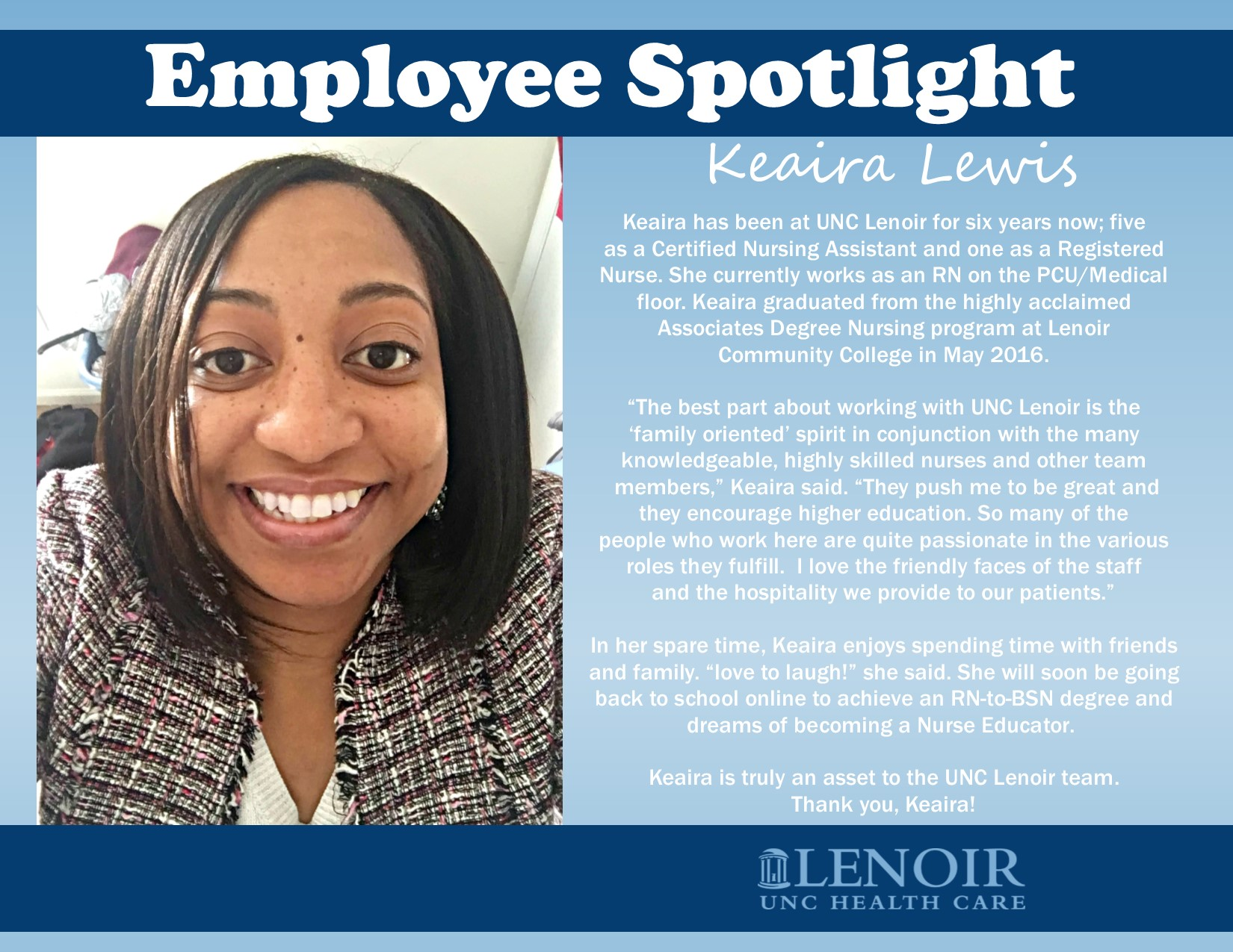 Nurses Week Keaira Lewis